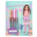 Depesche 006952 TOPModel Fashion Doodle Book mit Gelstiften