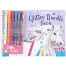 Depesche 008590 Miss Melody Glitter Doodle Book mit...