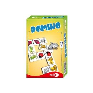 Noris 606094217 - Bilder Domino - Mitbringspiel
