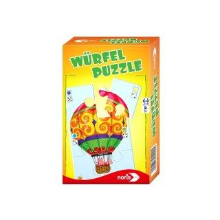 Noris 606094220 - Würfelpuzzle - Mitbringspiel