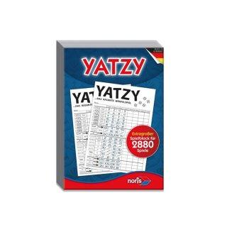 Noris 606194320 - Yatzy - extra großer Spielblock