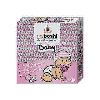 myboshi Baby - Hamamatsu/lwaki rosa-weiß
