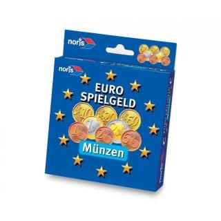 Noris 606521012 - Euro-Spielgeld Münzen