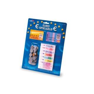 Noris 606521014 - Euro Spielgeld: Scheine + Münzen