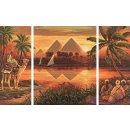 Schipper 609260442 - MNZ - Pyramiden am Nil (Triptychon)