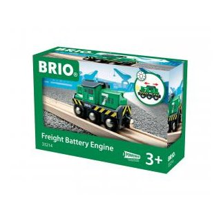 BRIO 33214  Batterie-Frachtlok
