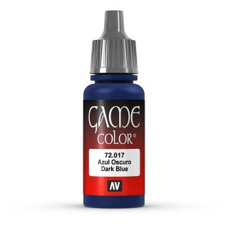 Vallejo Game Color: 017 Sick Blue, 17 ml