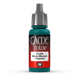 Vallejo Game Color: 024 Falcon Turquoise, 17 ml