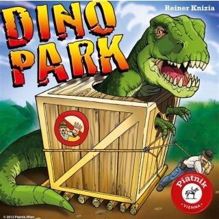 PIATNIK 608193 - Kompaktspiel Familie Dino Park (F)