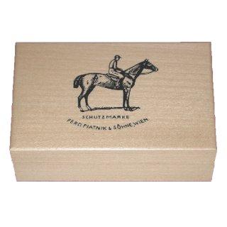 PIATNIK 280597 - Spielkartenkasette Luxuskassette Holz hell (Bridge/Poker)
