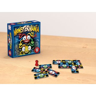 PIATNIK 600692 - Kompaktspiel Kinder Monstermania (K)