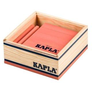 Kapla, 40 Teile pink (ohne Kunstbuch)