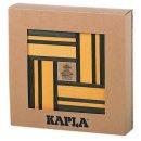 KAPLA 700503 Holzplättchen, 40er Box, 20 gelb und 20...