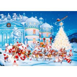 PIATNIK 562242 - PUZZLE 1000 T. Christmas - Toy Factory
