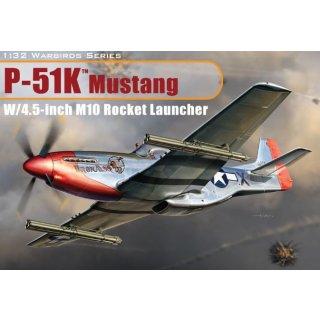 DRAGON - P-51K Mustang w/4.5-Inch M10 Rocket