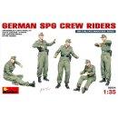 MiniArt 35054 - Deutsche SPG Crew Mitfahrer  1:35