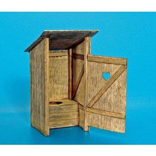 Holz-Toilette